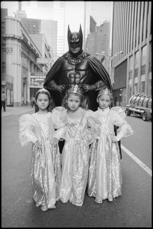 Mary Ellen Mark | Batman and Little Barbies | Courtesy of the artist