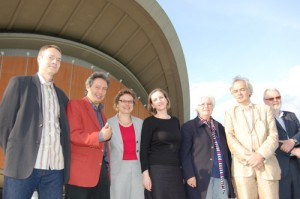 The jury International Literature Award - Haus der Kulturen der Welt
