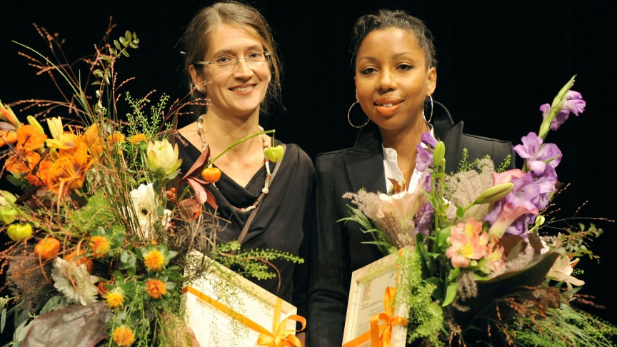 The Winners: Claudia Kalscheuer, Marie NDiaye | Photo: Marcus Lieberenz