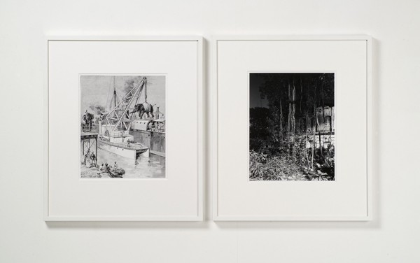 Joachim Koester | Calcutta Served As A Basis For British Expansion In The East, 2005-2007, Gelatin silver prints | Courtesy: Jan Mot, Brussels