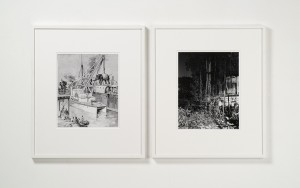 Joachim Koester Calcutta Served As A Basis For British Expansion In The East, 2005-2007, Gelatin silver prints
