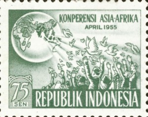 Special Edition Stamp on occasion of the Bandung Conference, 1955
