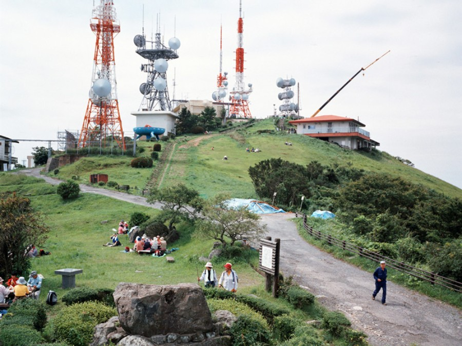 Armin Linke | Mountain with Antennas, Kitakyushu, Japan, 2006 | Foto: Armin Linke
