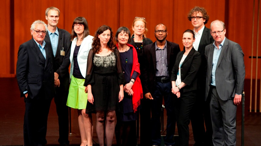 International Literature Award 2013 | Winners and Jury | Photo: Thomas Eugster