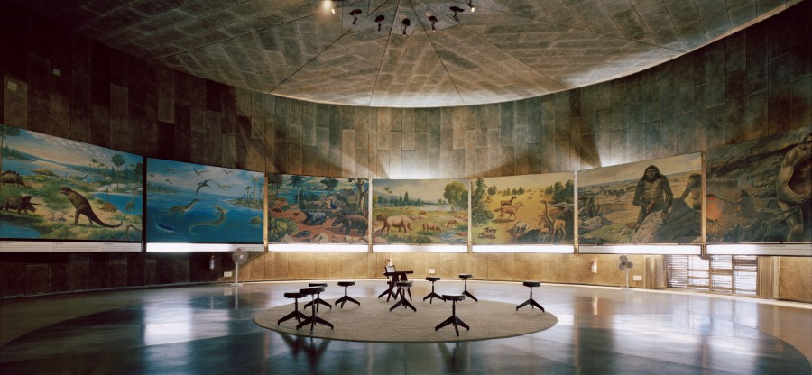 Museum of Evolution of Life, Chandigarh, India, 2014 | © Armin Linke/ Anthropocene Observatory