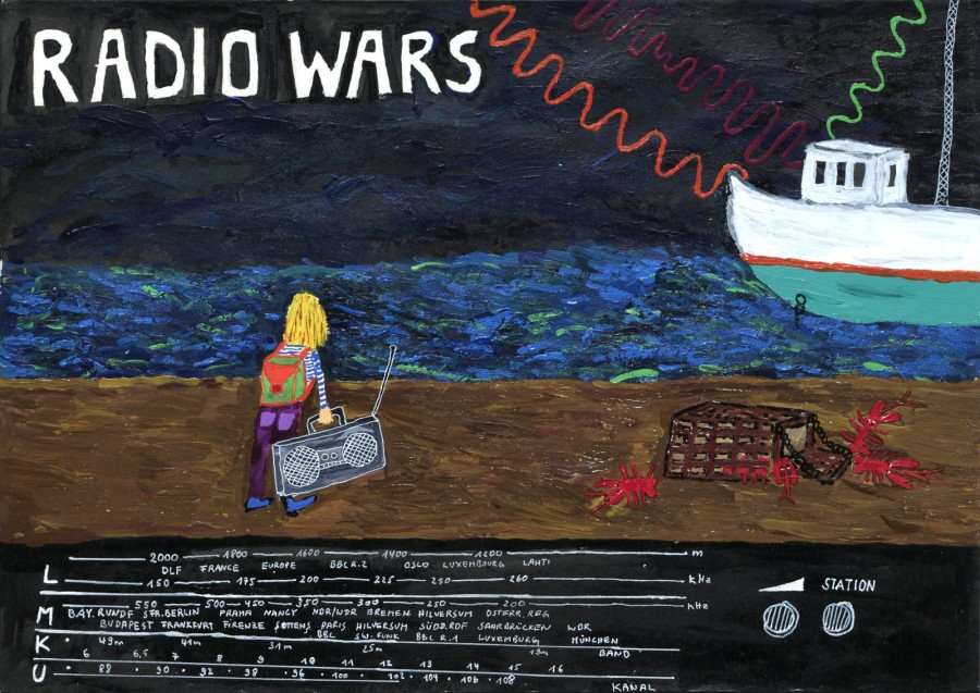 Radio Wars | © Christina M. Heinen