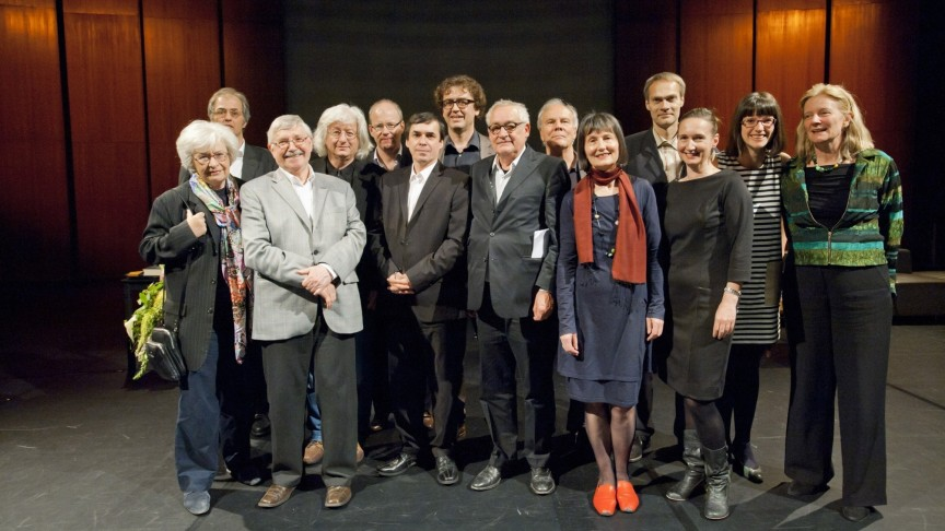 International Literature Award 2012 | Winners and Jury | Photo: Marcus Lieberenz