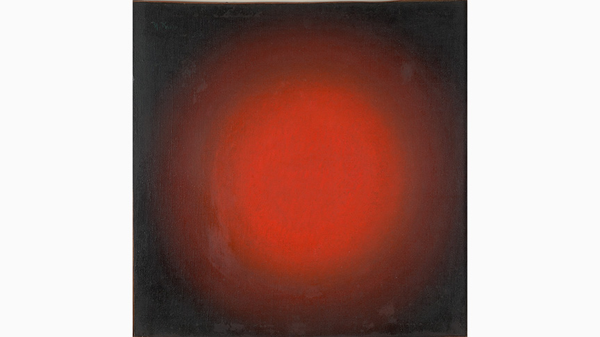 Ivan Kliun, Red Light. Spherical Composition, 1923 | Greek State Museum of Contemporary Art – Costakis Collection, Thessaloniki
