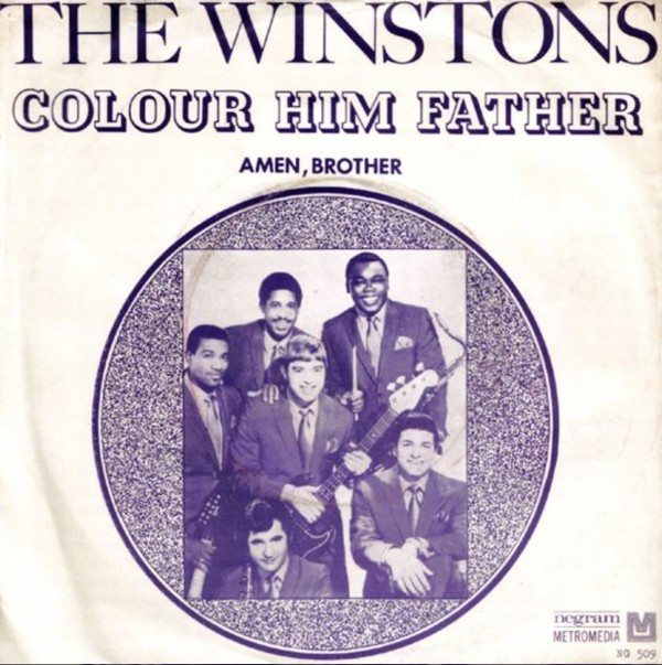 The Winstons, Color Him Father / Amen, Brother | © Promo
