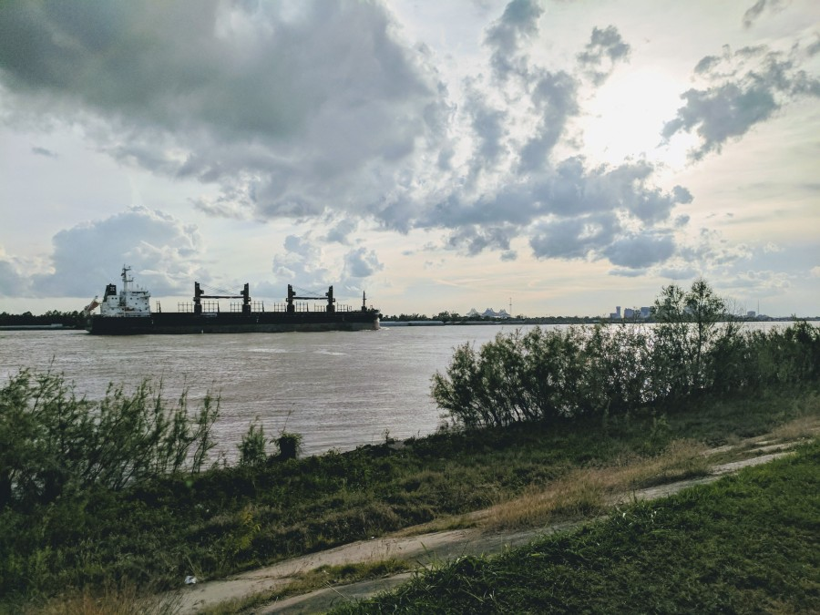 Mississippi River from New Orleans | © Hannah Schaedler