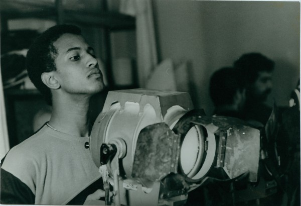 Didi Ould Nana, a Mauritanian student in the Cinematography Department. | Courtesy VGIK-Archive, vgik.info
