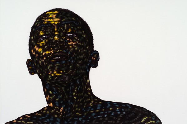Toyin Ojih Odutola | Uncertain, yet Reserved, 2012 | © Toyin Ojih Odutola. Courtesy of the artist and Jack Shainman Gallery, New York