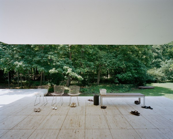 Armin Linke | Mies van der Rohe, Farnsworth House, Chicago USA, 2011