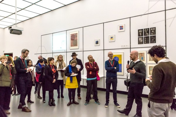 Curator-led tour with Grant Watson © Laura Fiorio