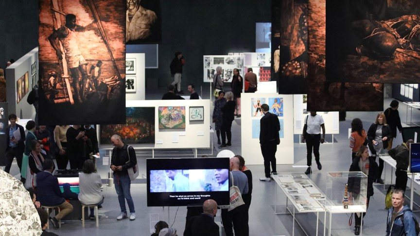 Love and Ethnology: Exhibition view | © Silke Briel / HKW
