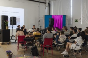 Was sind queere Konfliktkulturen? Workshop beim KLIRRRRR festival 2018 in Berlin | Foto: Emma Haugh